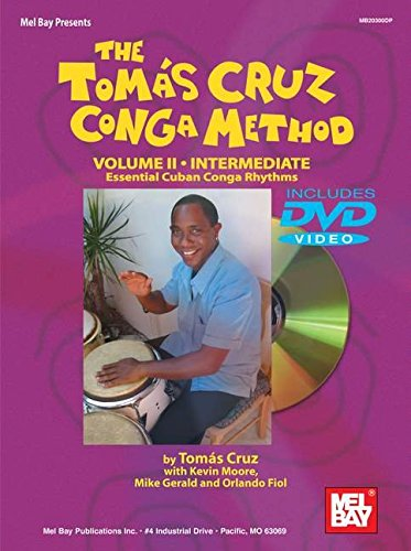 9780786670802: The Tomas Cruz Conga Method: Intermediate, Essential Cuban Conga Rhythms: 2