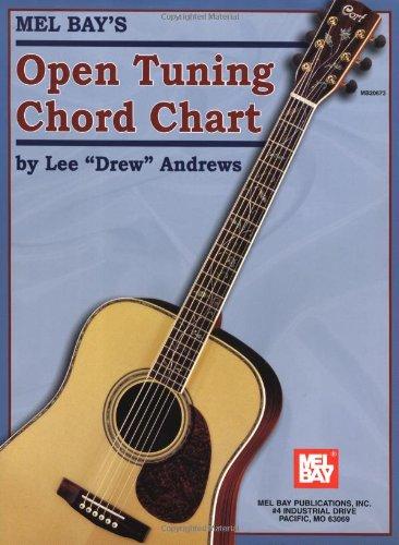 9780786671588: Mel Bay Open Tuning Chord Chart