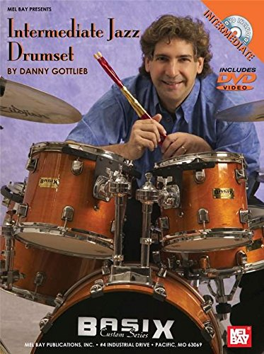 9780786671625: Intermediate Jazz Drumset