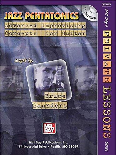 9780786671670: Mel Bay presents Jazz Pentatonics: Advanced Improvising Concepts for Guitar (Mel Bays Private Lessons)