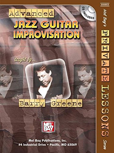 9780786671700: Advanced Jazz Guitar Improvisation