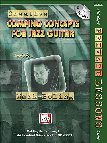9780786671861: Mel Bay's Creative Comping Concepts for Jazz Guitar