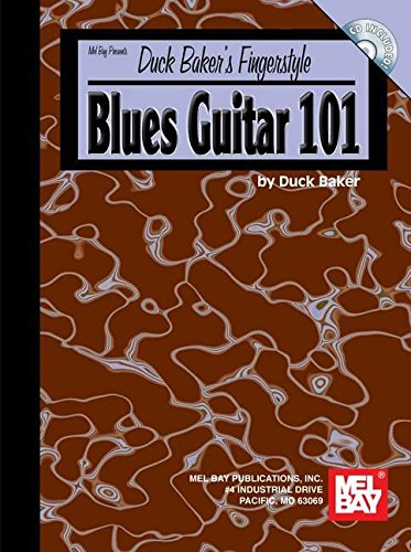 9780786672103: Mel Bay Duck Baker's Fingerstyle Blues Guitar 101