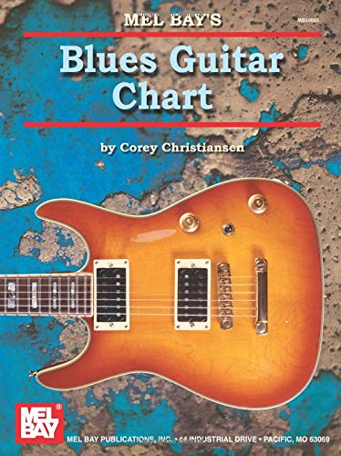 9780786672349: Mel Bay Blues Guitar Chart