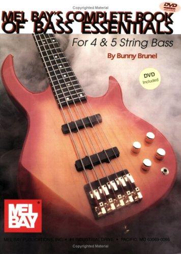 9780786672431: Mel Bay Complete Book of Bass Essentials Book w/ DVD set