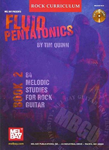 9780786672820: Fluid Pentatonics Book 2: 84 Melodic Studies for Rock Guitar