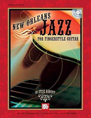 Mel Bay New Orleans Jazz for Fingerstyle Guitar: Steve Hancoff