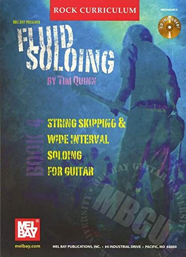 9780786672967: Fluid Soloing: String Skipping & Wide Internal Soloing for Guitar