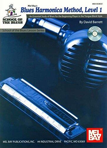 9780786673162: Blues Harmonica Method, Level 1