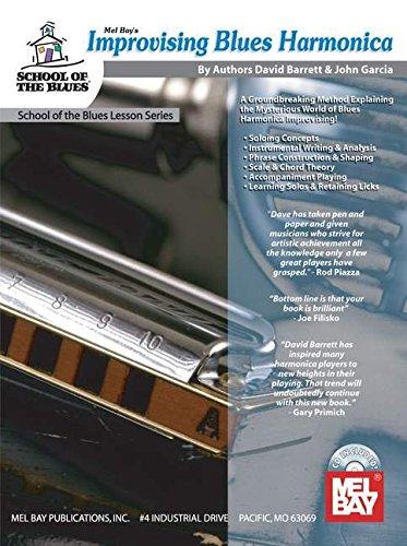 9780786673216: Mel Bay presents Improvising Blues Harmonica