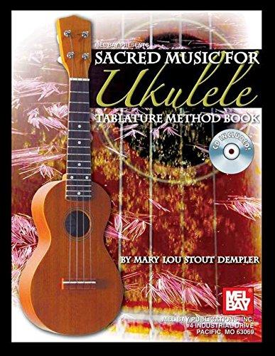 9780786673285: Sacred Music for Ukulele: Tablature Method Book