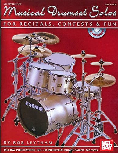 9780786673315: Mel Bay Musical Drumset Solos for Recitals, COntests and Fun
