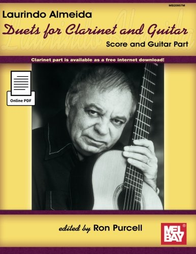9780786673971: Laurindo Almeida: Duets for Clarinet and Guitar
