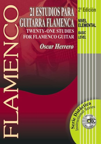 9780786674121: 21 Estudios para guitarra flamenca / 21 Studies For Flamenco Guitar, Basic Level (Serie Didactica)