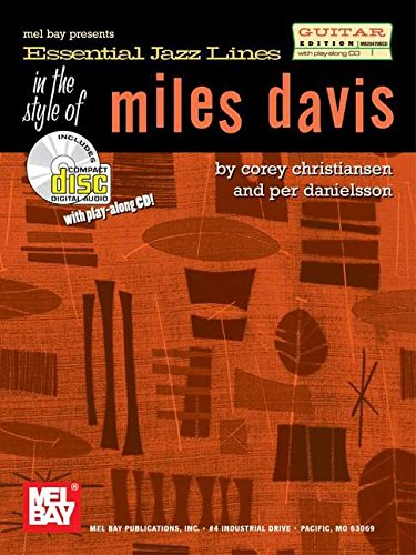 9780786674220: Essential Jazz Lines in the Style of Miles Davis - Guitar Edition