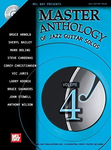 9780786674558: Master Anthology of Jazz Guitar Solos Vo (Mel Bay Presents Jazz Guitar Solos)