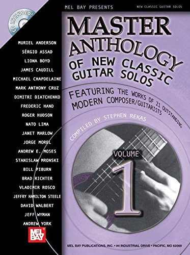 9780786674565: Master Anthology of New Classic Guitar Solos