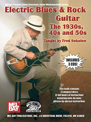 9780786674886: ELECTRIC BLUES ROCK GUITAR THE 1930S 40S (Grossman Audio)