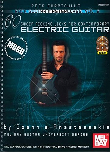9780786674954: Rock Guitar Master: 60 Sweep Picking Licks for Contemporary Electric Guitar: Level: Intermediate - Advanced: 2