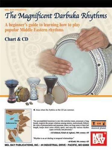 9780786675548: The Magnificent Darbuka Rhythms: A Beginner's Guide to Learning How to Play Popular Middle Eastern Rhyths