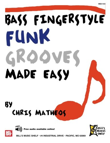 9780786675777: Bass Fingerstyle Funk Grooves Made Easy