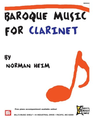 9780786676309: Baroque Music for Clarinet
