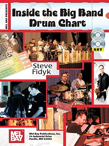 9780786676453: Mel Bay Presents Inside The Big Band Drum Chart
