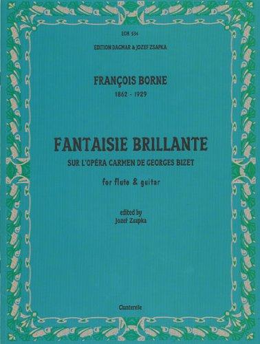 9780786676651: Fantaisie Brillante Sur Carmen: For Flute & Guitar