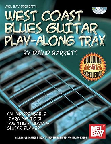 9780786676705: West Coast Blues Guitar Play-Along Trax