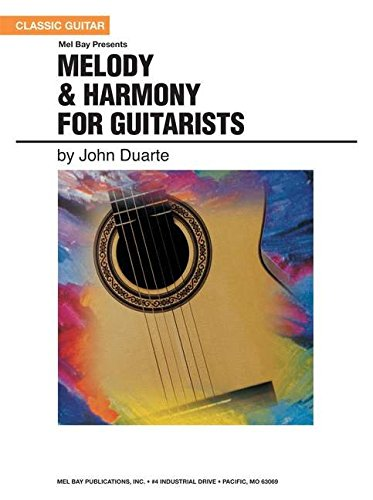 9780786676880: Mel Bay Presents Melody & Harmony for Guitarists