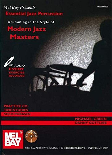 9780786676965: Essential Jazz Percussion Drumming in the Style of Modern Jazz Masters (Mel Bay Presents)