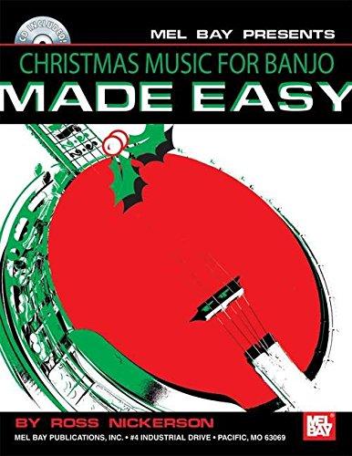 9780786677023: Christmas Music for Banjo Made Easy [With CD]