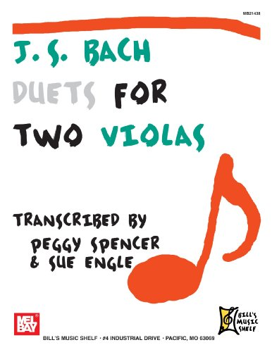J.S. Bach: Duets for Two Violas: Spencer, Peggy