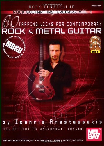 9780786678471: 1: 60 Tapping Licks: For Contemporary Rock and Metal Guitar (MBGU: Rock Guitar Masterclass)