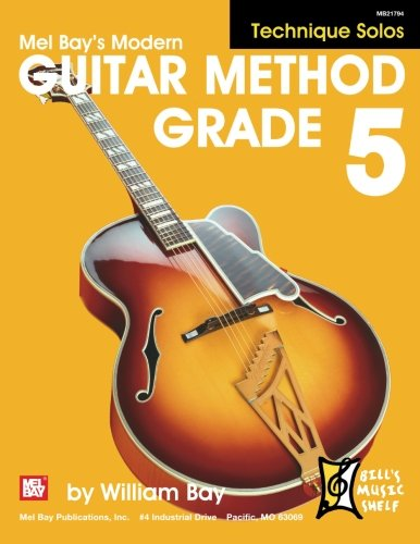 9780786678662: Modern Guitar Method Grade 5: Technique Solos