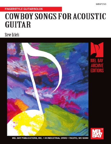 9780786678921: COWBOY SONGS FOR ACOUSTIC GUITAR: Fingerstyle Guitar/Solos