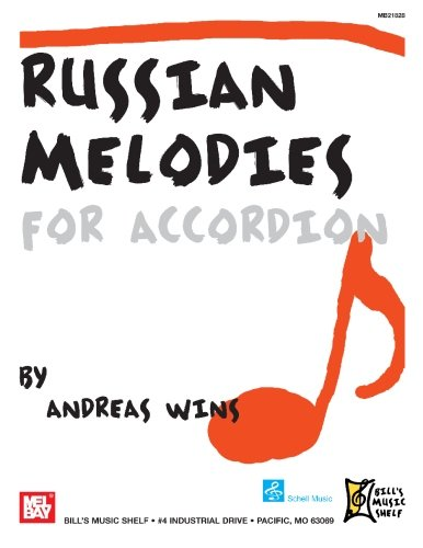 9780786679874: Russian Melodies For Accordion