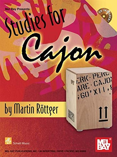 9780786679898: Studies for Cajon CD