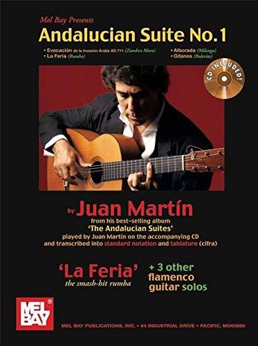 9780786680054: Martin Juan Andalucian Suite N 1 Tab CD