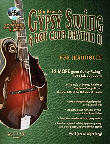 9780786680207: Gypsy Swing & Hot Club Rhythm II For Mandolin