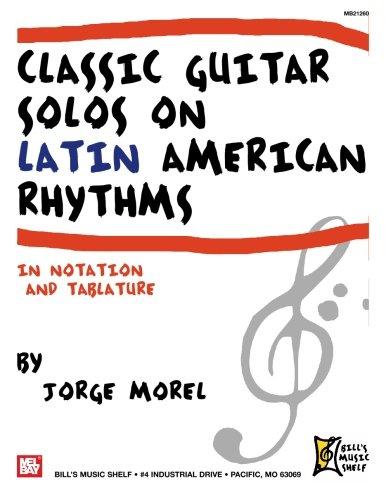 9780786680719: Classic Guitar Solos on Latin American Rhythms
