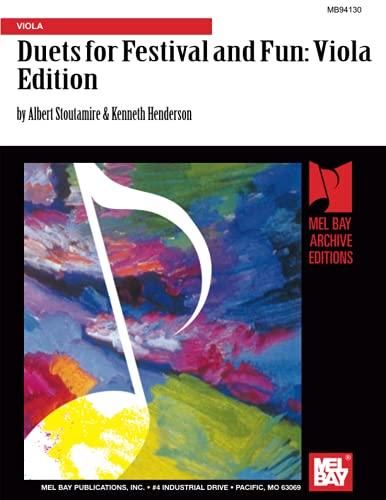 9780786681341: Duets for Festival and Fun: Viola Edition: Viola