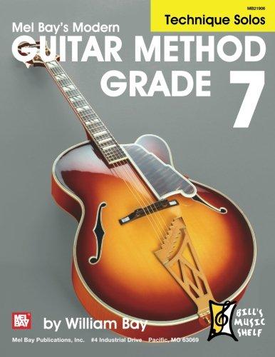 9780786681440: Modern Guitar Method Grade 7: Technique Solos
