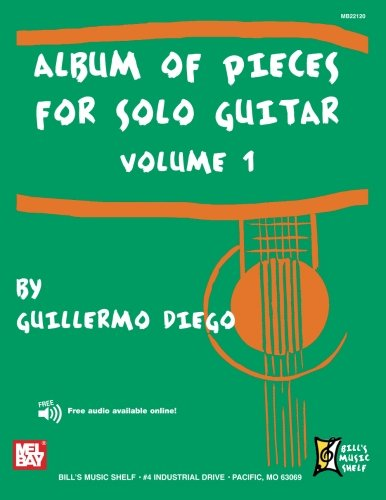 9780786681815: Album of Pieces for Solo Guitar