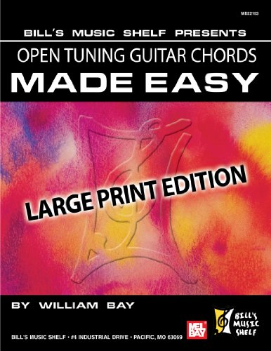 9780786681853: Open Tuning Guitar Chords Made Easy: Large Print Edition