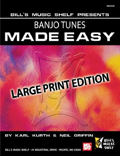 9780786682027: Banjo Tunes Made Easy: Large Print Edition