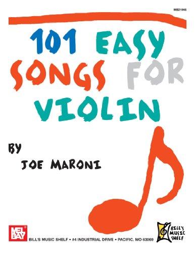 9780786682188: 101 Easy Songs for Violin