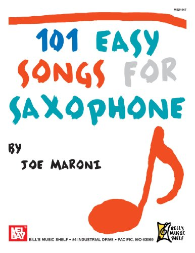 9780786682225: 101 Easy Songs for Saxophone