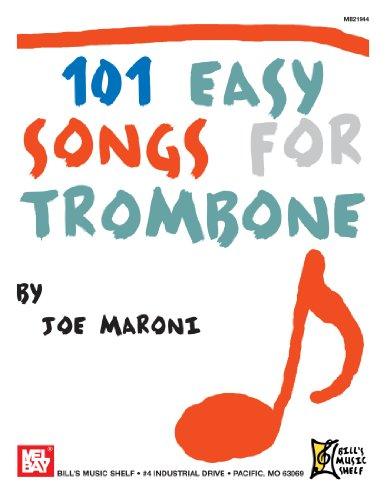 9780786682249: 101 Easy Songs for Trombone