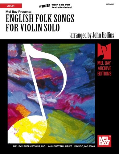 9780786682515: English Folk Songs for Violin Solo